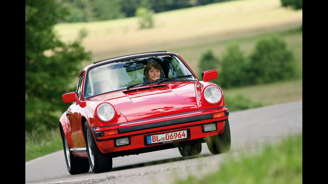 Porsche 911, Front