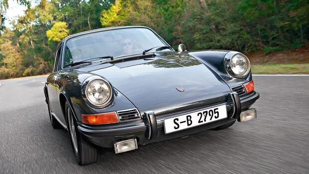 Porsche 911, Frontansicht