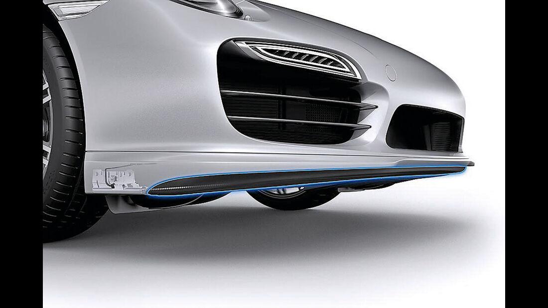 Porsche 911, Frontspoiler