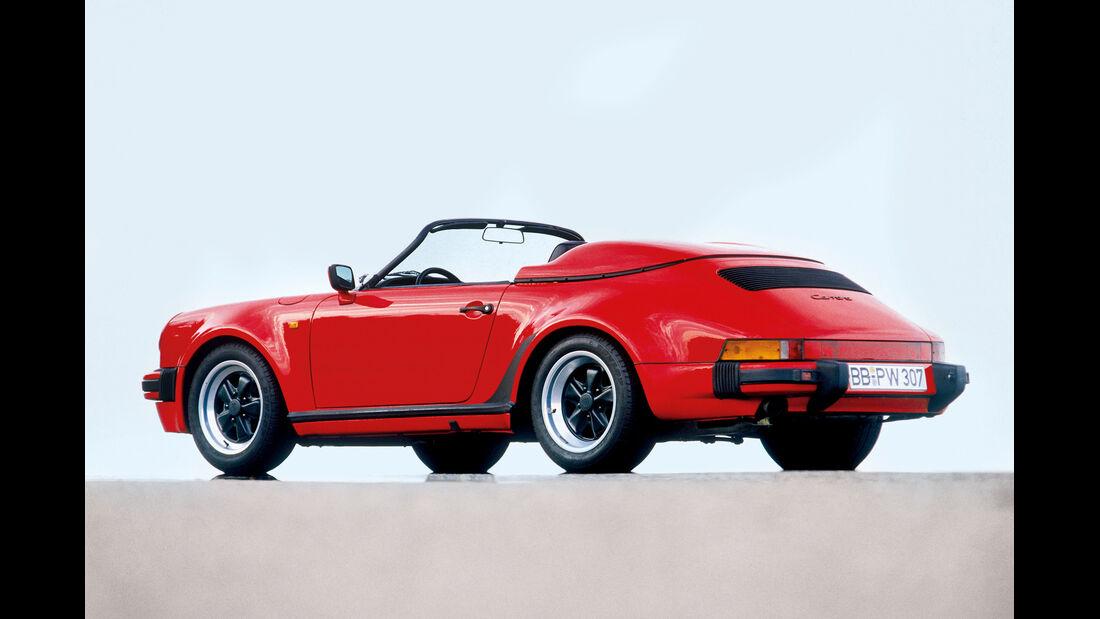 Porsche 911 G-Modell, Heckansicht