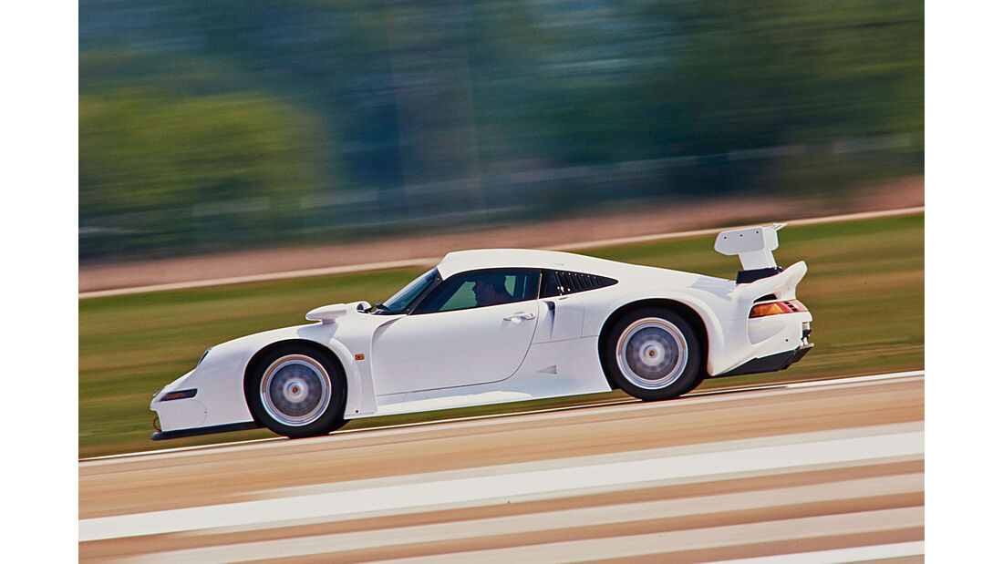 Porsche 911 GT1 (1996) - Supersportwagen - Test - AMS 1997