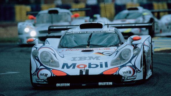 Porsche 911 GT1 Rennversion LeMans 1998