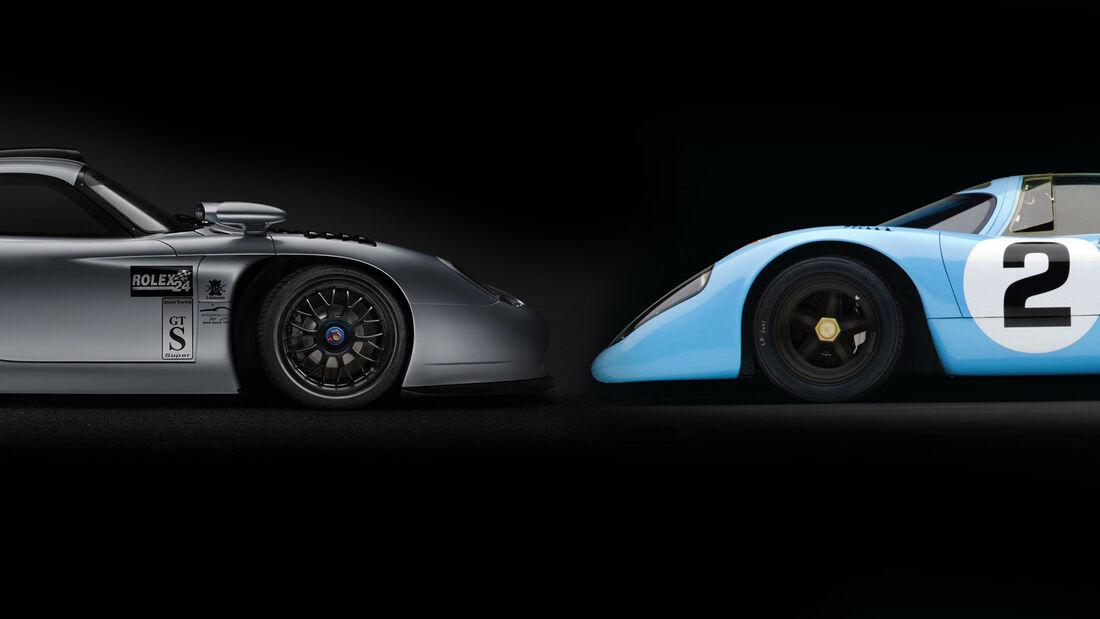 Porsche 911 GT1 oder 917 teuer verkauf gulf