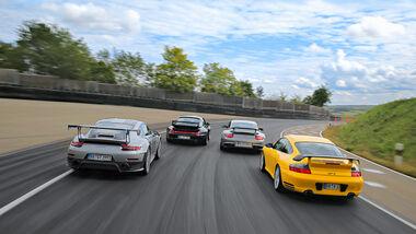 Porsche 911 GT2 - 993, 996, 997, 991 - Sportwagen - Biturbo
