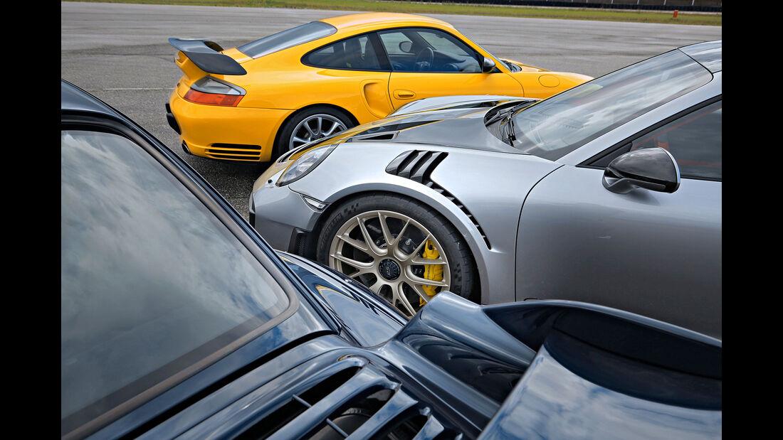 Porsche 911 GT2 - 993, 996, 997 - Sportwagen - Biturbo