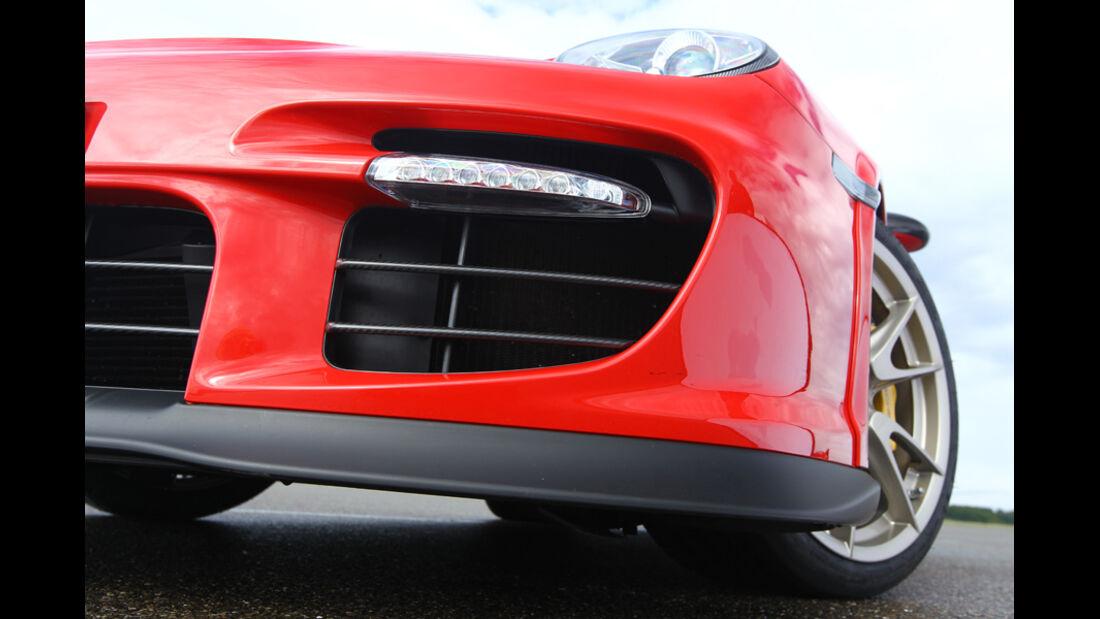 Porsche 911 GT2 RS, Frontsplitter