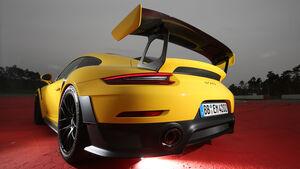 Porsche 911 GT2 RS, Kofferraum