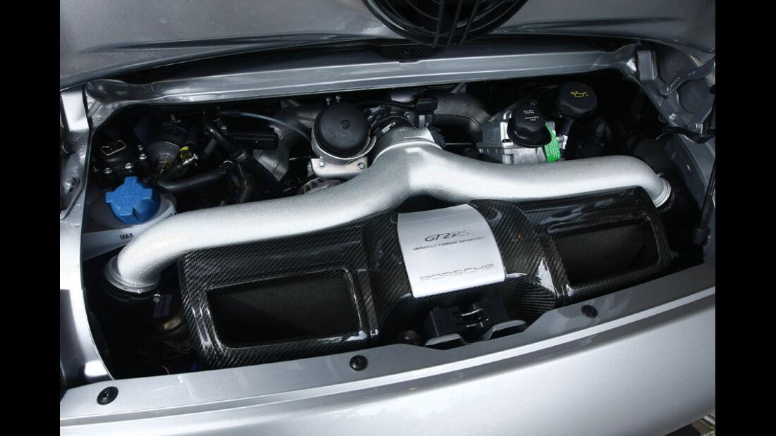 Porsche 911 GT2 RS Motor