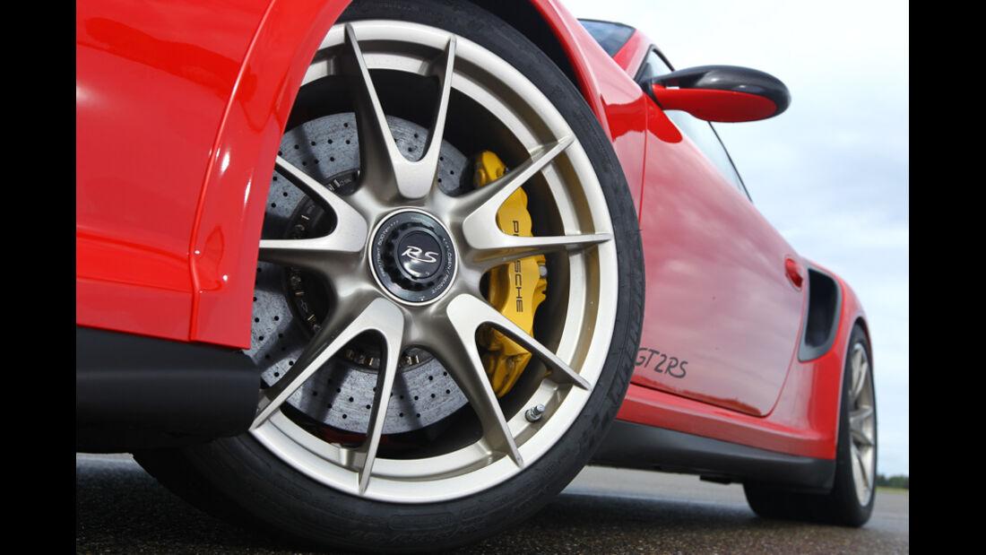 Porsche 911 GT2 RS, Rad