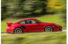 Porsche 911 GT2 RS, Seitenansicht