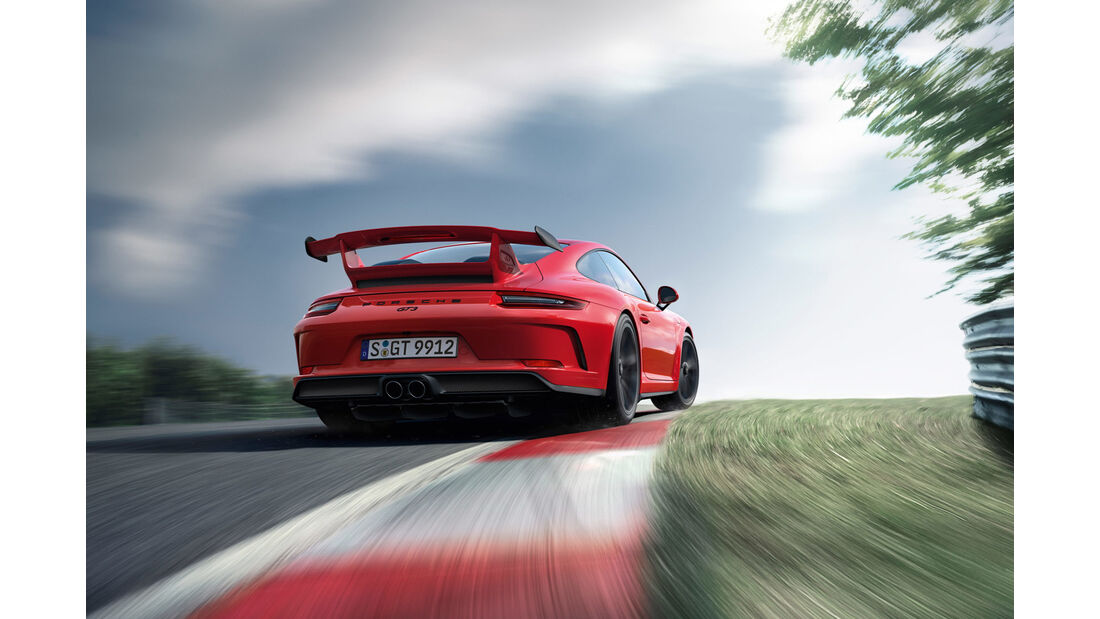 Porsche 911 GT3 991.2 Facelift, Konfigurator