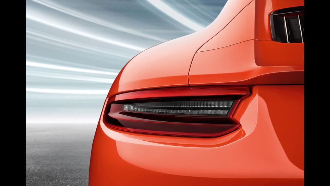 Porsche 911 GT3 991.2 Facelift, Konfigurator, Rückleuchte
