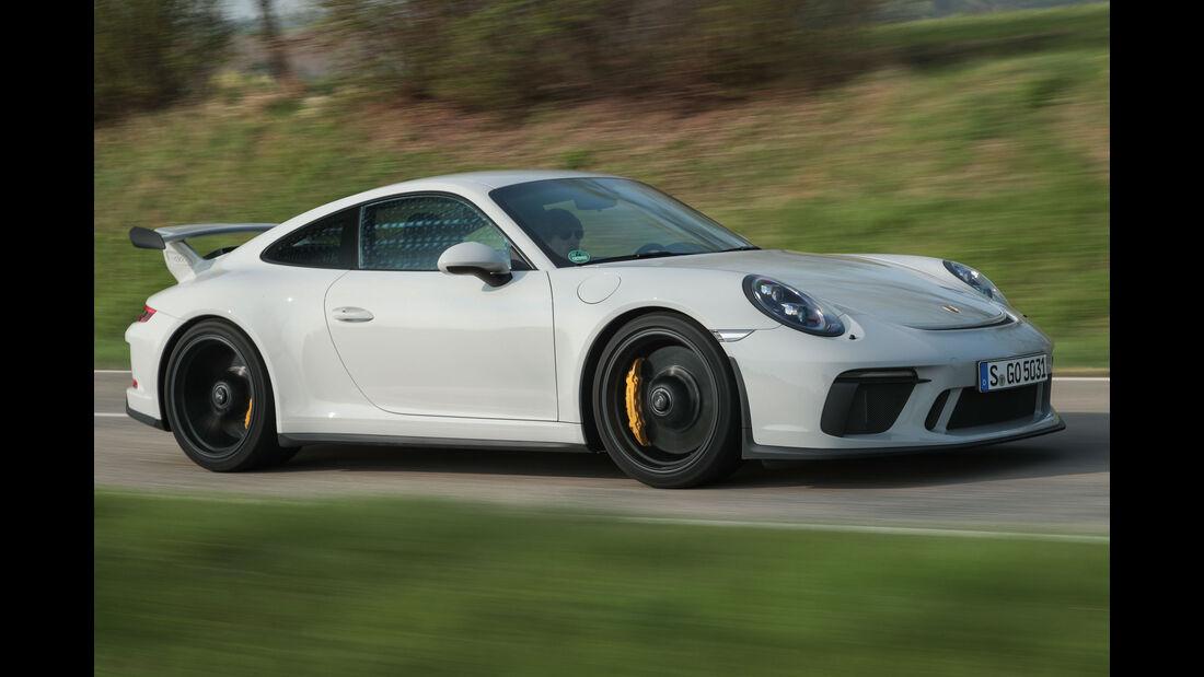 Porsche 911 GT3 991.2 - Saugmotor - Sechszylinder-Boxermotor - Handschaltgetriebe