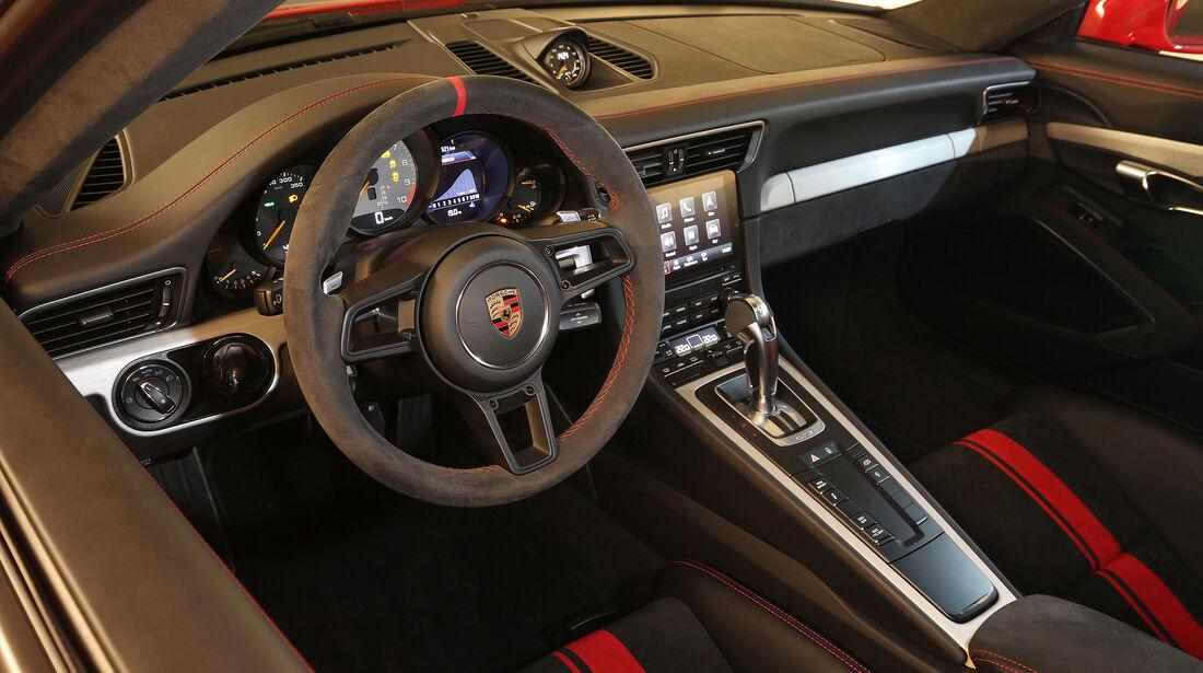 Porsche 911 GT3 (991) 2017 - Sportwagen - Lenkrad - Innenraum