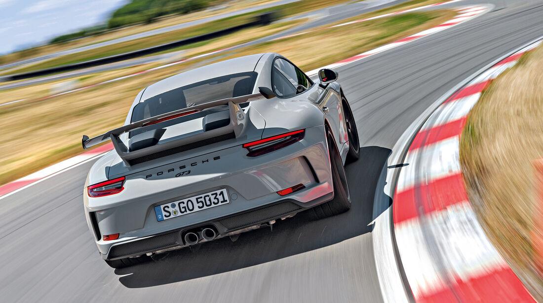 Porsche 911 GT3 (991), Heck