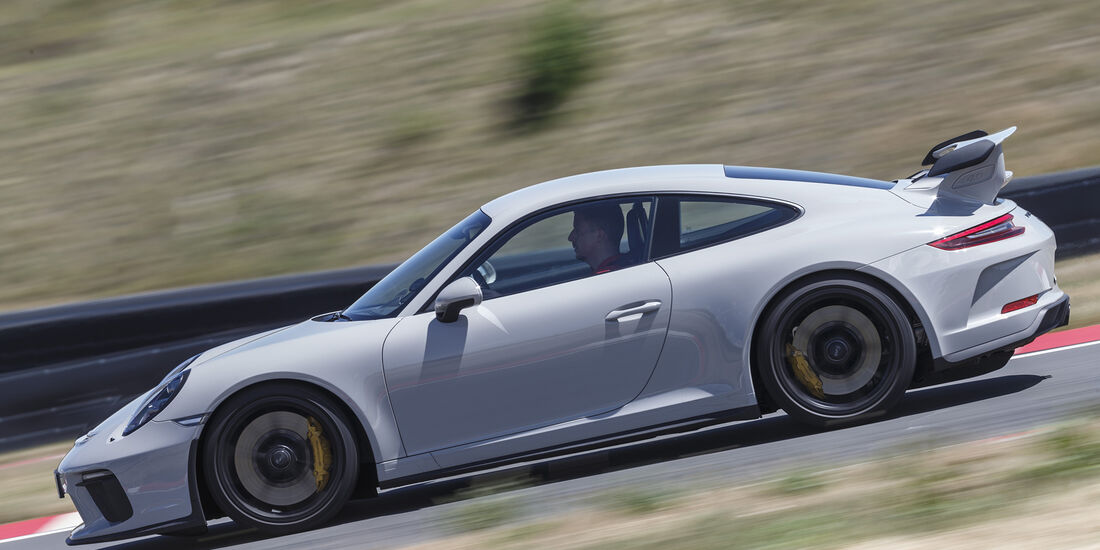 Porsche 911 GT3 (991), Seitenansicht