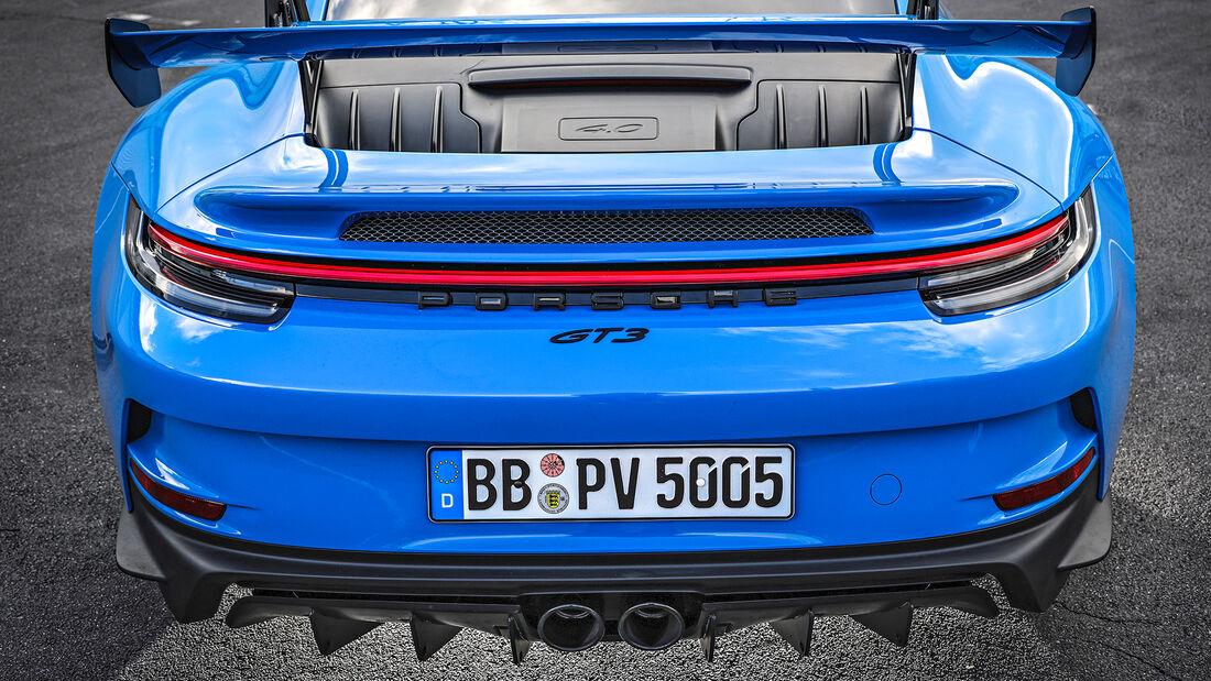 Porsche 911 GT3 (992), Exterieur