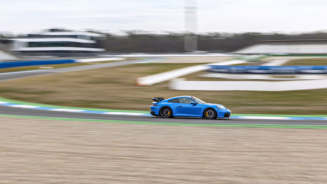 Porsche 911 GT3 (992), Hockenheimring