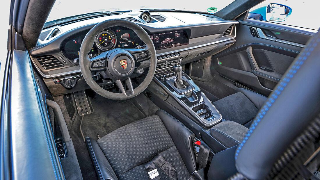 Porsche 911 GT3 (992), Interieur