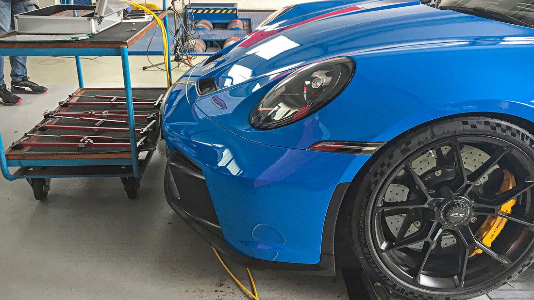 Porsche 911 GT3 (992), Leistungsmessung