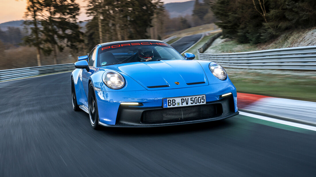 Porsche 911 GT3 (992), Nordschleife