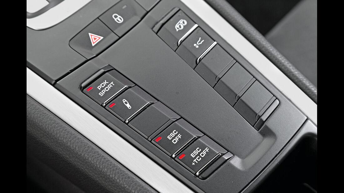 Porsche 911 GT3, Bedienelemente