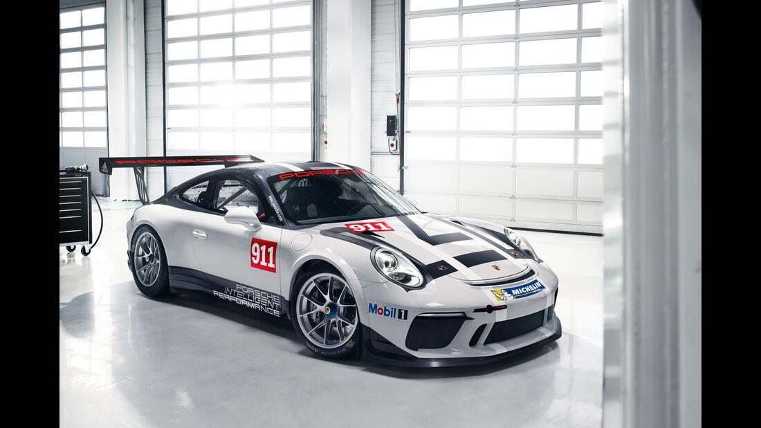 Porsche 911 GT3 Cup - Essen Motor Show 2016 - Motorsport