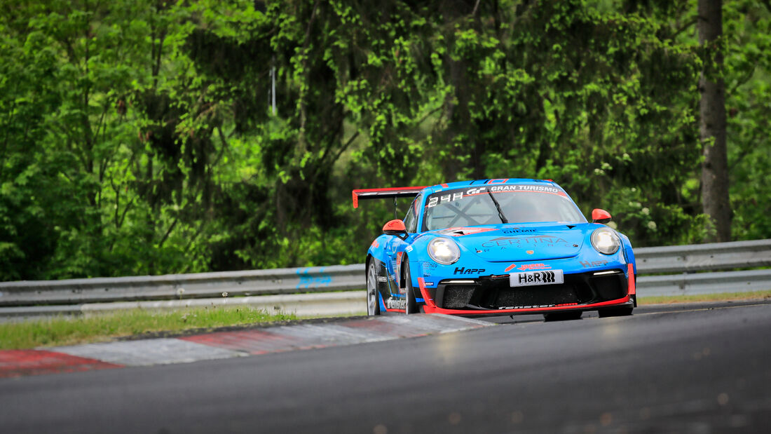 Porsche 911 GT3 Cup - Huber Motorsport - Startnummer #80 - Klasse: SP 7 - 24h-Rennen - Nürburgring - Nordschleife - 03. - 06. Juni 2021