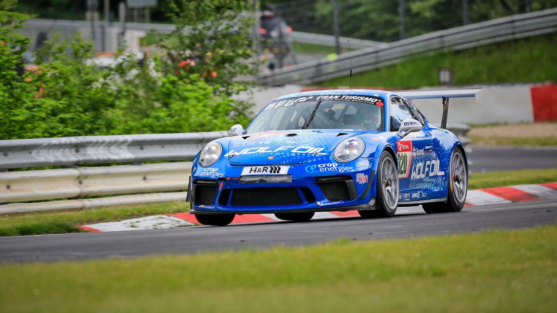 Porsche 911 GT3 Cup II - Four Motors Bioconcept-Car - Startnummer #320 - Klasse: AT - 24h-Rennen - Nürburgring - Nordschleife - 03. - 06. Juni 2021