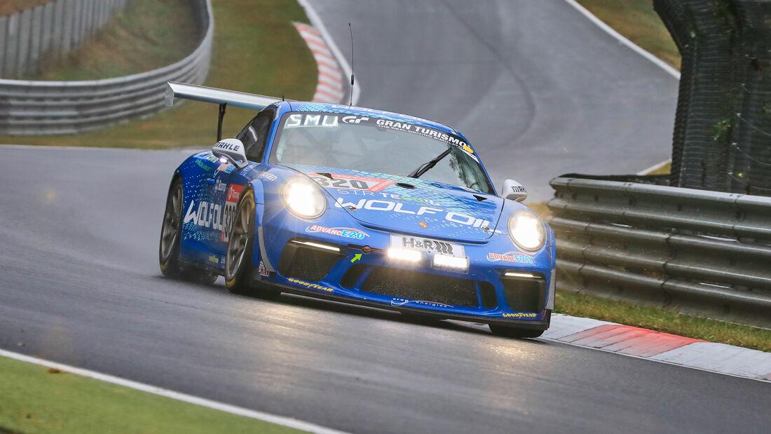 Porsche 911 GT3 Cup II - Four Motors Bioconcept-Car - Startnummer #320 - Klasse: AT - 24h-Rennen - Nürburgring - Nordschleife - 24. bis 27. September 2020