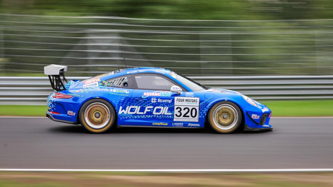 Porsche 911 GT3 Cup II - Startnummer #320 - Four Motors Bioconcept-Car - AT(-G) - NLS 2020 - Langstreckenmeisterschaft - Nürburgring - Nordschleife