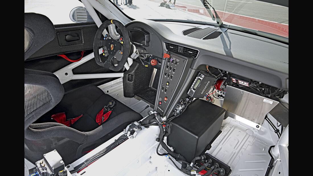 Porsche 911 GT3 Cup, Interieur