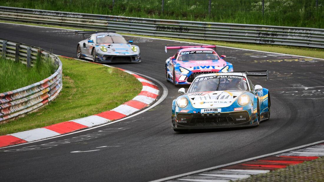 Porsche 911 GT3 Cup MR - BLACK FALCON Team IDENTICA - Startnummer #350 - Klasse: SP-PRO - 24h-Rennen - Nürburgring - Nordschleife - 03. - 06. Juni 2021