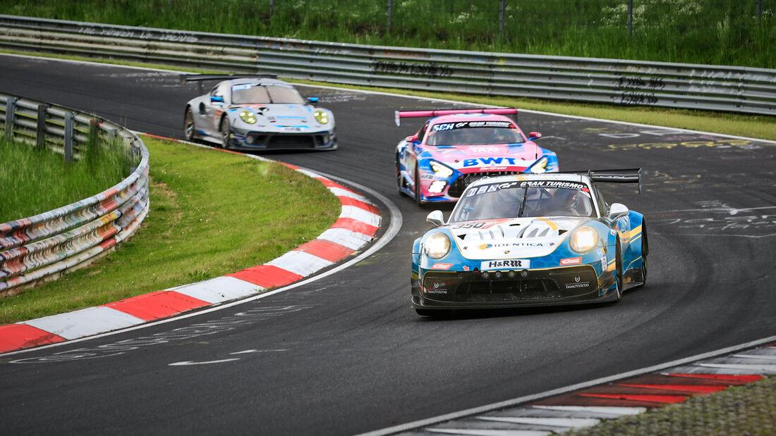 Porsche 911 GT3 Cup MR - Black Falcon Identica - Startnummer 350 - 24h Rennen Nürburgring - Nürburgring-Nordschleife - 4. Juni 2021