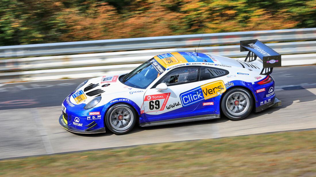 Porsche 911 GT3 Cup MR - Clickversicherung.de Team - Startnummer #69 - Klasse: SP7 - 24h-Rennen - Nürburgring - Nordschleife - 24. bis 27. September 2020