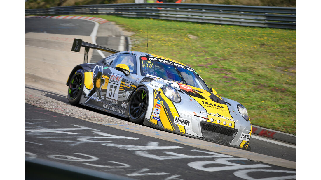 Porsche 911 GT3 Cup MR - Startnummer #57 - Black Falcon Team Textar - SP7 - VLN 2019 - Langstreckenmeisterschaft - Nürburgring - Nordschleife