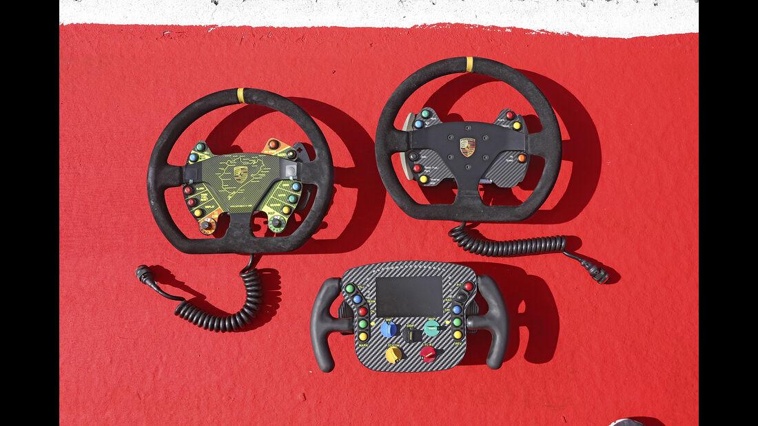 Porsche 911 GT3 Cup, Porsche 911 GT3 R, Porsche 911 RSR, Lenkräder