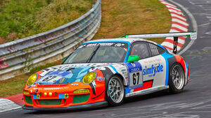 Porsche 911 GT3 Cup - Raceunion Teichmann Racing - Startnummer: #67 - Bewerber/Fahrer: Marc Hennerici, Florian Scholze, Stef van Campenhoudt, Dennis Trebing – Klasse: SP7