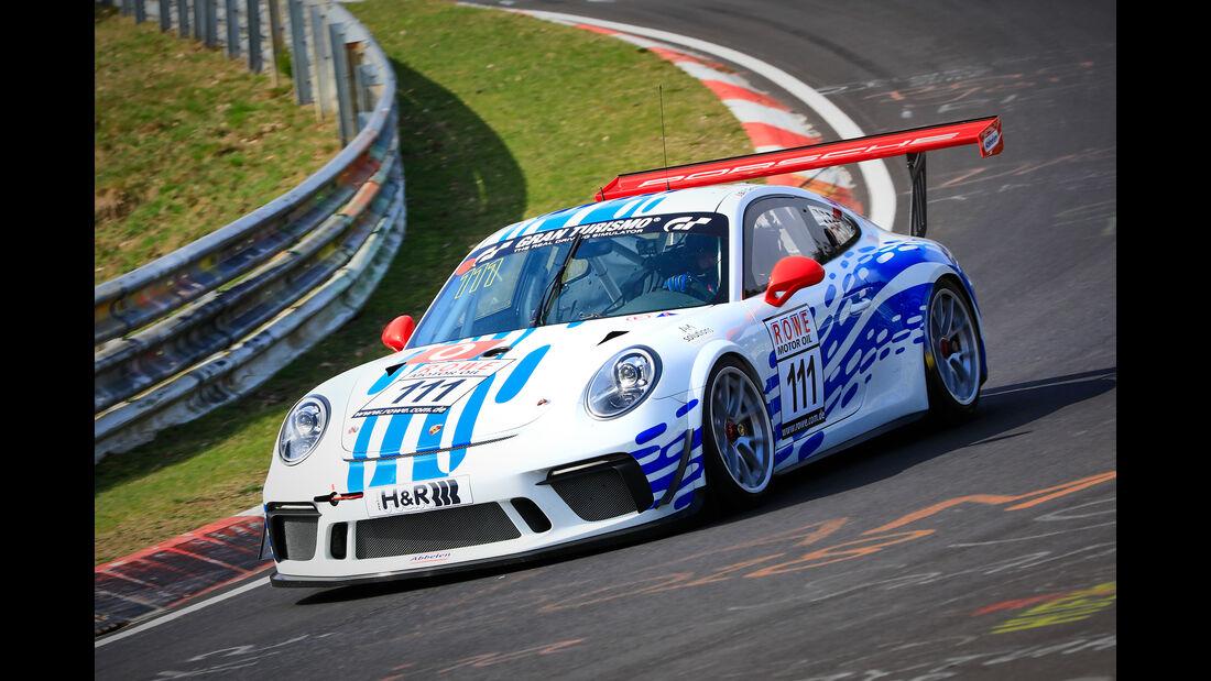 Porsche 911 GT3 Cup - Startnummer #111 - Cup 2 - VLN 2019 - Langstreckenmeisterschaft - Nürburgring - Nordschleife