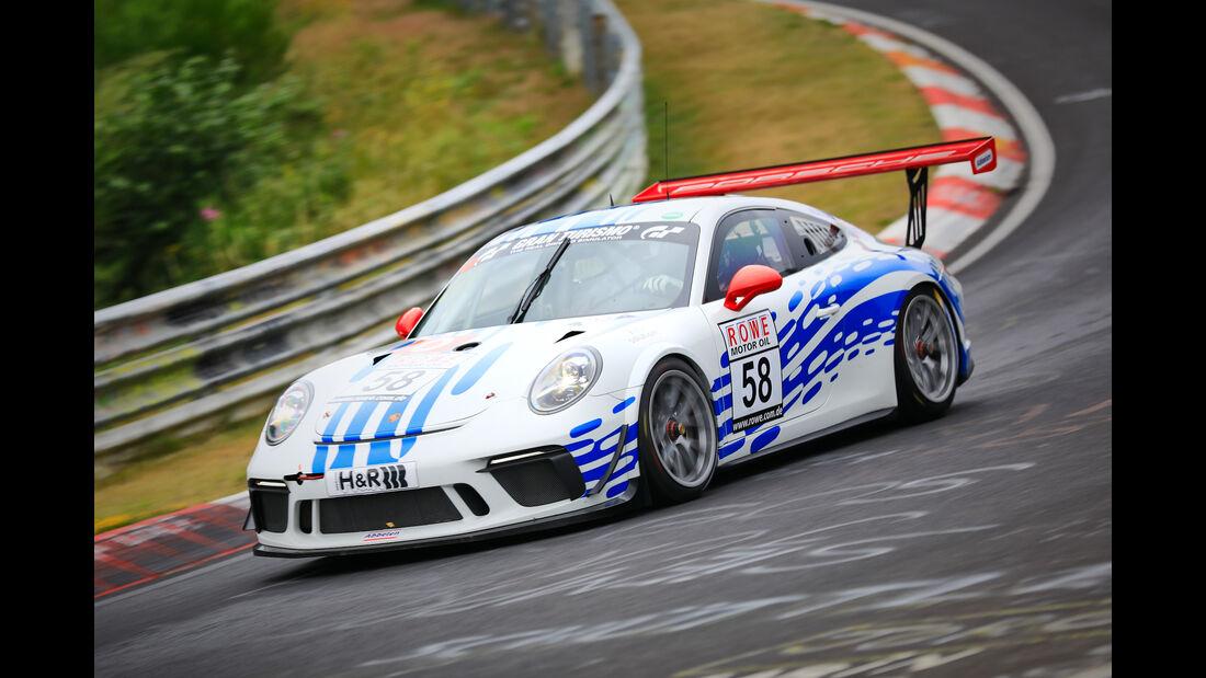 Porsche 911 GT3 Cup - Startnummer #58 - SP7 - VLN 2019 - Langstreckenmeisterschaft - Nürburgring - Nordschleife