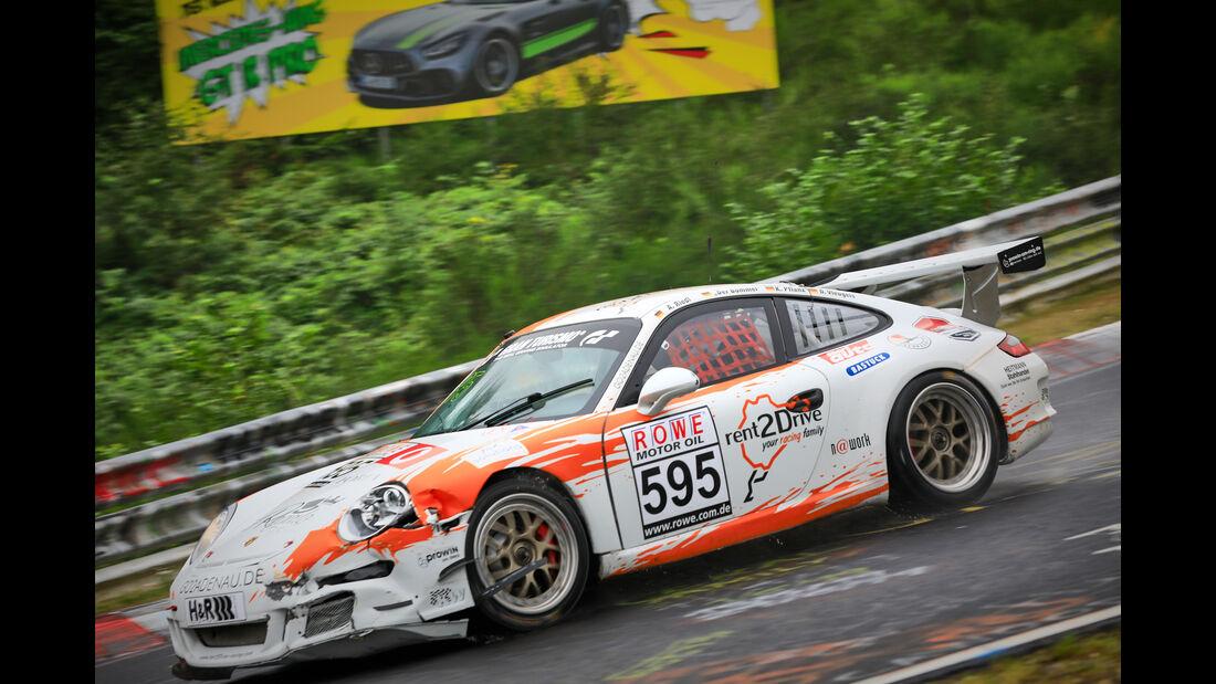 Porsche 911 GT3 Cup - Startnummer #595 - rent2drive-FAMILIA-racing & MSC Adenau e.V. im ADAC - H4 - VLN 2019 - Langstreckenmeisterschaft - Nürburgring - Nordschleife