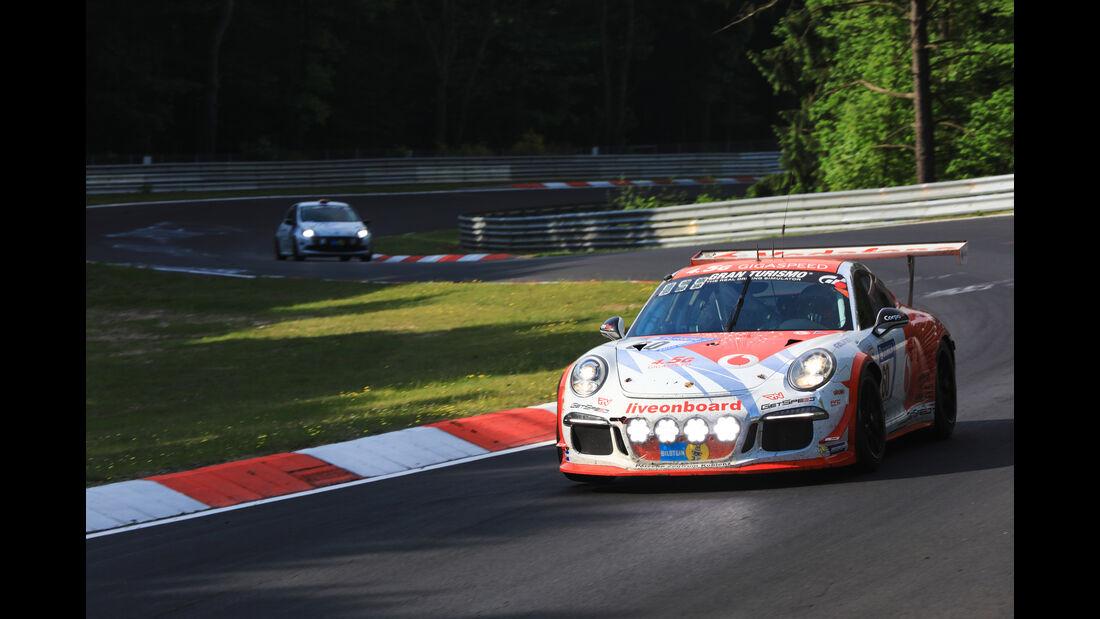 Porsche 911 GT3 Cup - Startnummer #60 - 24h-Rennen Nürburgring 2017 - Nordschleife - Sonntag - 28.5.2017