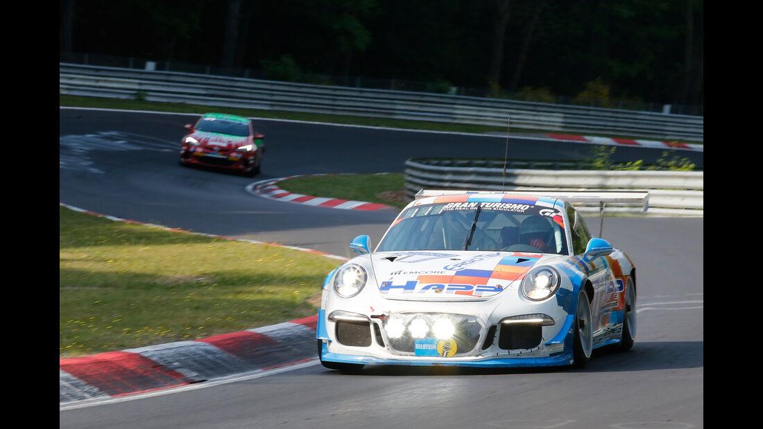 Porsche 911 GT3 Cup - Startnummer #61 - 24h-Rennen Nürburgring 2017 - Nordschleife - Sonntag - 28.5.2017