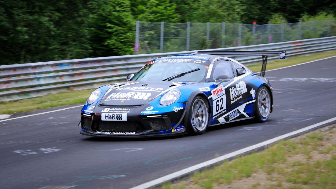 Porsche 911 GT3 Cup - Startnummer #62 - H&R Spezialfedern GmbH & Co. KG - SP7 -  NLS 2020 - Langstreckenmeisterschaft - Nürburgring - Nordschleife
