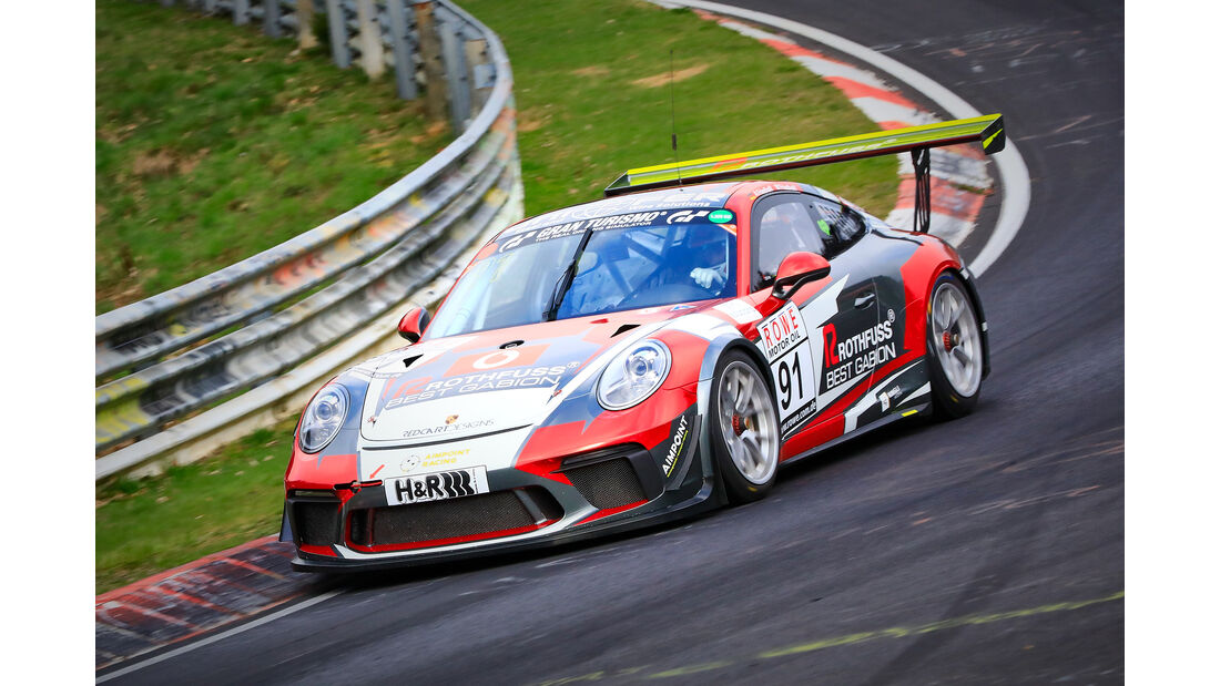 Porsche 911 GT3 Cup - Startnummer #91 - SP7 - VLN 2019 - Langstreckenmeisterschaft - Nürburgring - Nordschleife
