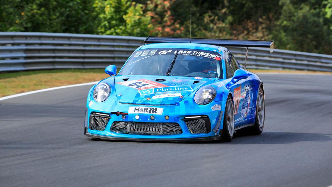 Porsche 911 GT3 Cup - rent2Drive-Familia racing - Startnummer #64 - Klasse: SP7 - 24h-Rennen - Nürburgring - Nordschleife - 24. bis 27. September 2020