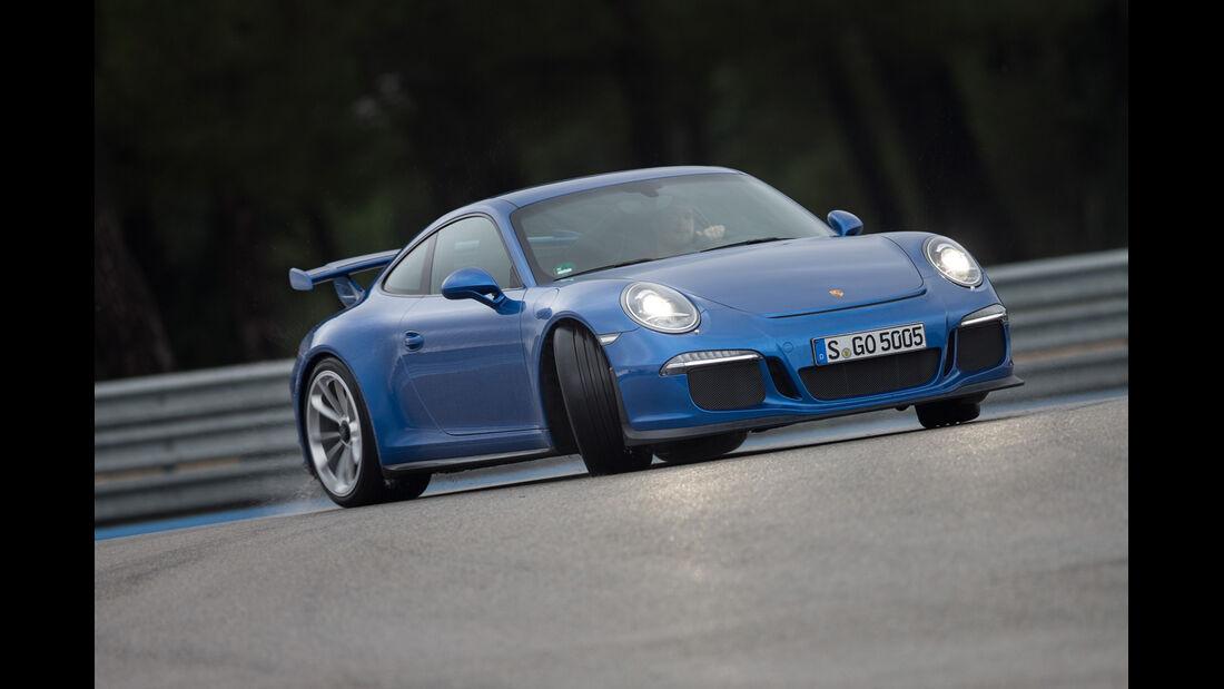 Porsche 911 GT3, Driften, Frontansicht