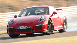 Porsche 911 GT3, Frontansicht, Driften