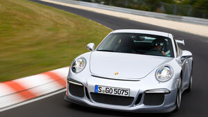 Porsche 911 GT3, Frontansicht