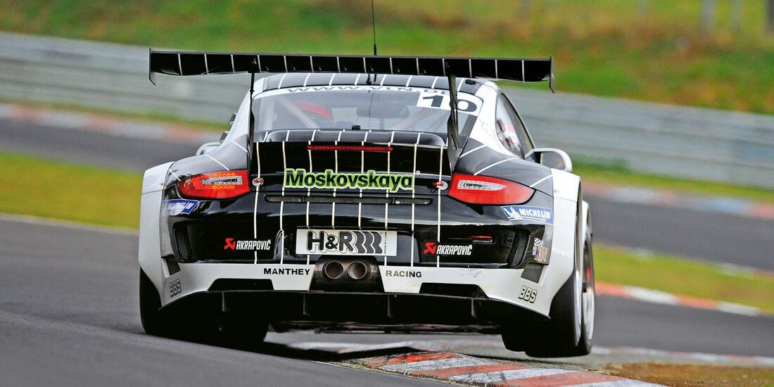Porsche 911 GT3, Heck